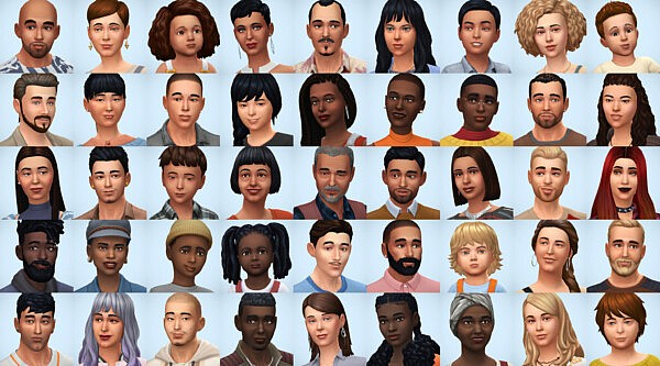 Families Pack I sims 4 cc
