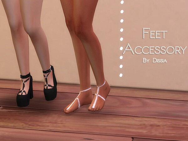 Feet Accessory by Dissia from TSR
