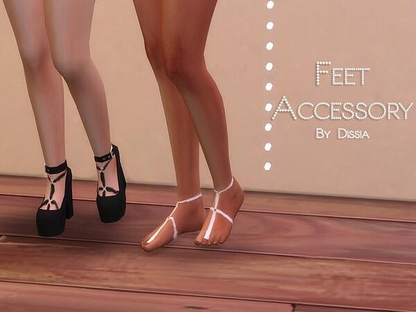 Feet Accessory sims 4 cc