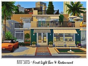 First Light Bar and Restaurant sims 4 cc