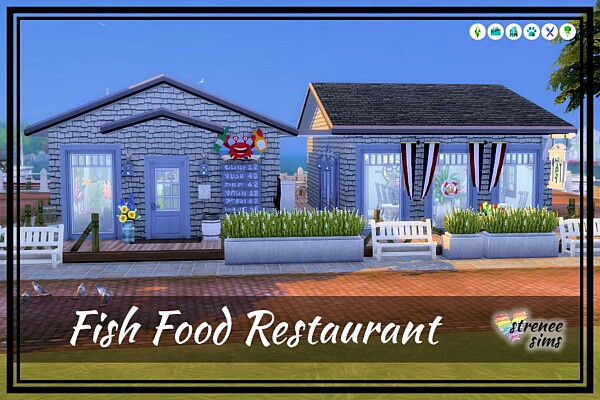 Fish Food sims 4 cc