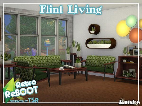 Flint Living sims 4 cc