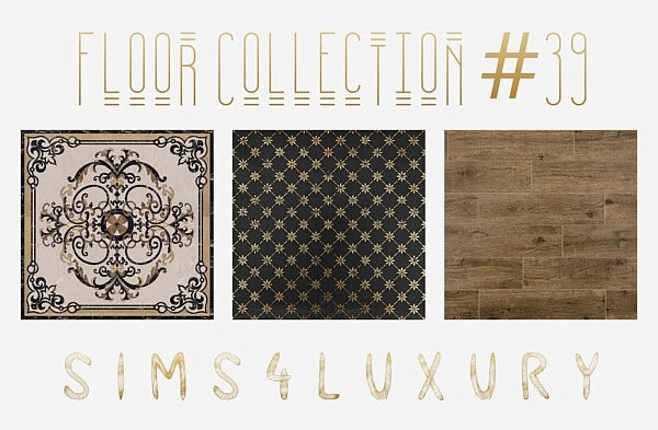 Floors Collection 39 sims 4 cc