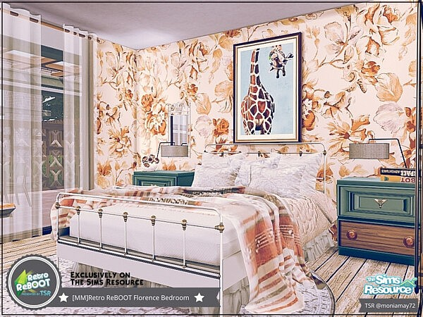 Florence Bedroom sims 4 cc