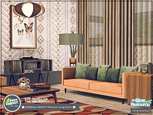 Florence Living Room sims 4 cc