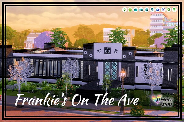 Frankies On The Ave sims 4 cc