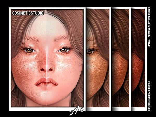Freckles Aoki sims 4 cc