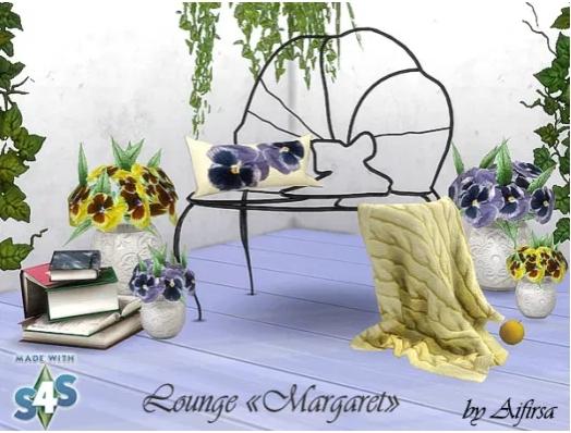 Garden furniture Margaret sims 4 cc