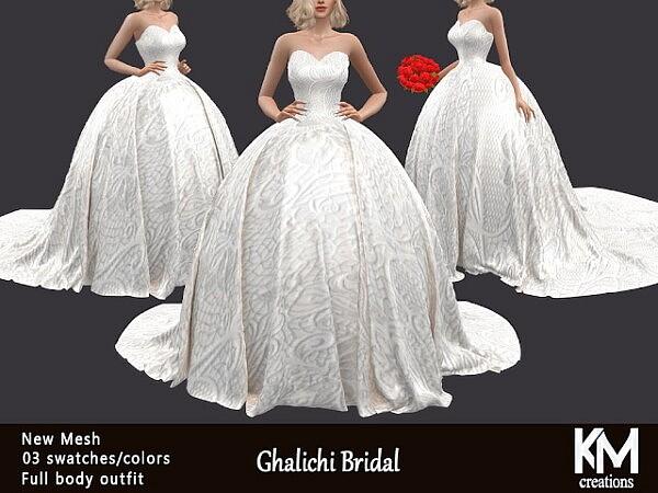 Ghalichi Bridal sims 4 cc