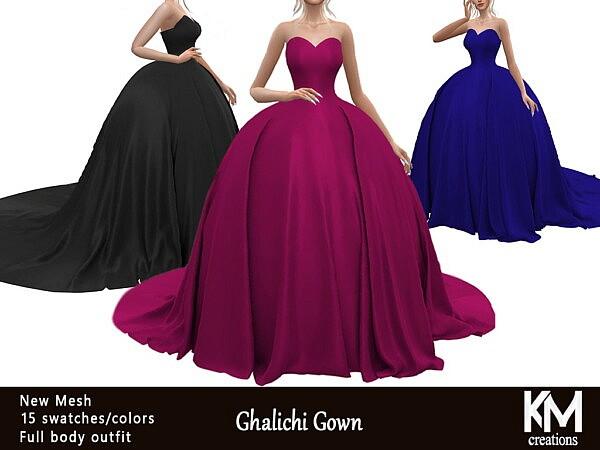 Ghalichi Gown sims 4 cc