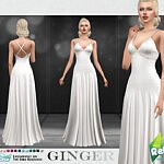 Ginger Dress sims 4 cc