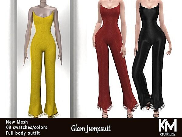 Glam Jumpsuit sims 4 cc