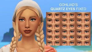 Gohliads Quartz Eyes Fixed sims 4 cc