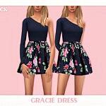 Gracie Dress sims 4 cc