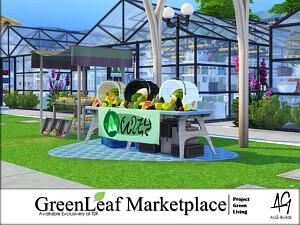 GreenLeaf Marketplace sims 4 cc