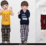 Grid Cargo Pants 01 sims 4 cc