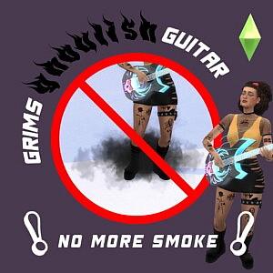 Grims Guitar sims 4 cc