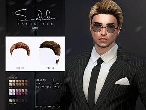 Hair 20210 sims 4 cc