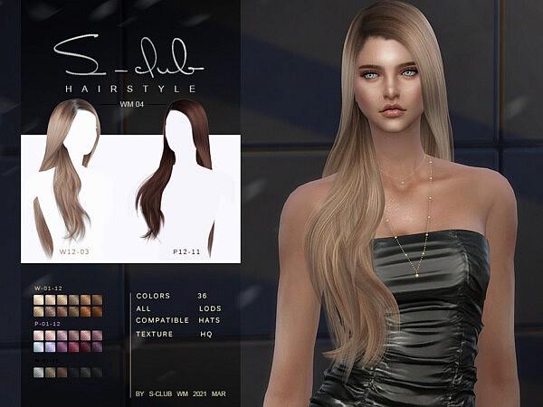 Hair 202109 sims 4 cc