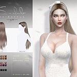 Hair n74 Ling sims 4 cc