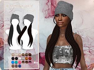 Harmony Hairstyle Set sims 4 cc