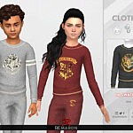 HarryPotter Sweater 01 sims 4 cc