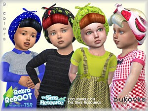 Hat Pin Up sims 4 cc