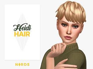 Heidi Hair sims 4 cc