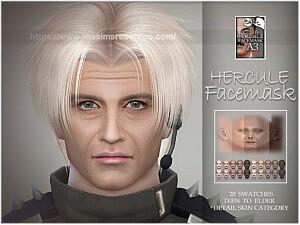 Hercule facemask sims 4 cc