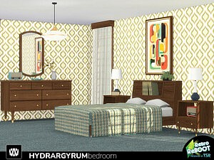 Hydrargyrum Bedroom sims 4 cc