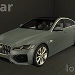 Jaguar XF sims 4 cc
