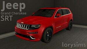 Jeep Grand Cherokee SRT sims 4 cc