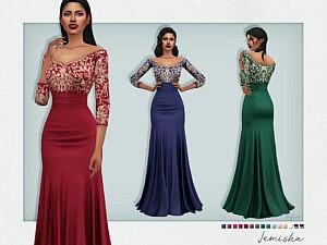 Jemisha Dress sims 4 cc