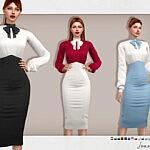 Joanna Outfit sims 4 cc