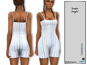 Jumper Cozyful sims 4 cc
