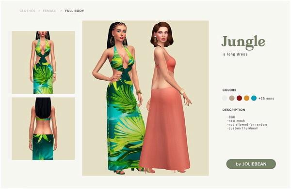 Jungle Dress from Joliebean