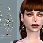 Karishma earrings sims 4 cc