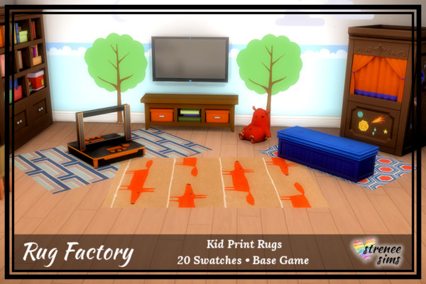 Kids Rugs Set 1 sims 4 cc