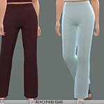 Knit Lounge Pants sims 4 cc