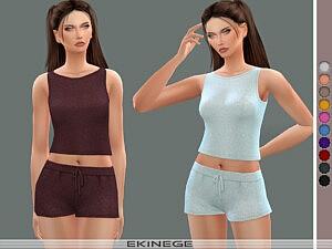 Knit Sweater Tank Top sims 4 cc