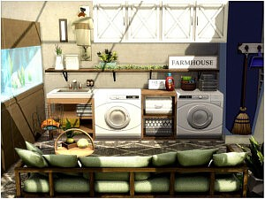 Laundry Room sims 4 cc