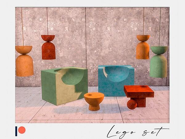 Lego set sims 4 cc