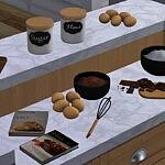 Lets Bake Set sims 4 cc