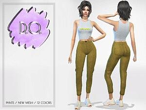 Lilac Pants 68 sims 4 cc