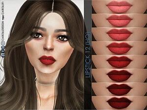 Lipstick 12 sims 4 cc