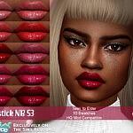 Lipstick NB53 sims 4 cc