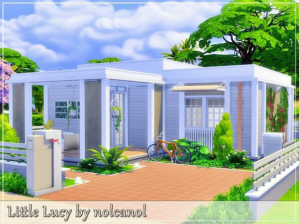 Little Lucy House sims 4 cc