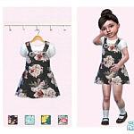 Little Rose Dress sims 4 cc
