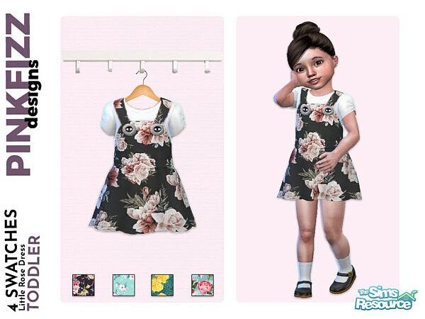 Little Rose Dress by Pinkfizzzzz from TSR