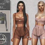 Livia Set Top sims 4 cc